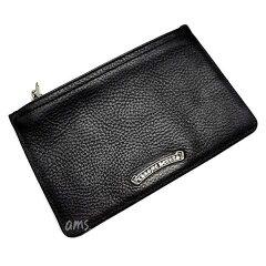 クロムハーツ財布(ChromeHearts)ジッパーチェンジパース#2ブラック・ヘビーレザーウォレット(メンズ)(クロム・ハーツ)(長財布)