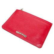 クロムハーツ財布(ChromeHearts)ジッパーチェンジパース#2レッド・ウォレット