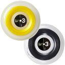 【クーポン利用で3%OFF!】テクニファイバー エックスワン バイフェイズ(Tecnifibre X-ONE BIPHASE)1.24/1.30mm 200m ロール 硬式テニス ガット ストリング