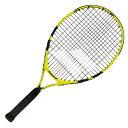 バボラ(Babolat) 2019 ナダルジュニア 23 (215g) イエローブラック 海外正規品 硬式テニスジュニアラケット 140248-191(19y2m)[次回使えるクーポンプレゼント]