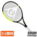 [パトリック・ムラトグルー]ダンロップ(DUNLOP) 2020 スリクソン SX600(エスエックス600) (270g) 海外正規品 硬式テニスラケット 20DSX600(20y4m)[AC][次回使えるクーポンプレゼント]