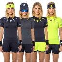 [海外サイズ]ハイドロゲン(HYDROGEN) 2020 レディース テック ストーム Tシャツ T01208(20y5mテニス)[次...