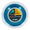 ヨネックス ポリツアースピン-コバルトブルー(1.20mm/1.25mm) 200Mロール 硬式テニス ポリエステルガット(Yonex Poly TourSpin)PTGSPN