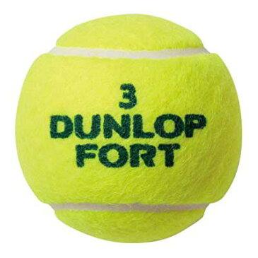 ダンロップ(DUNLOP) 【FORT(フォート) (1缶/4球)】 硬式テニスボール