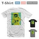 Tシャツ メンズ レディース 半袖 おしゃれ プリント クルーネック ブラック ホワイト グレー 綿100% コットン 春 夏 服 カジュアル 宇宙飛行士 AsTronauT イラスト黄色 緑 Space かわいい