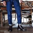 本革 チャッカブーツ ブーツ ショートブーツ メンズ 靴 紳士靴 紐 レザー レースアップ グッドイヤーウェルト製法 黒 カジュアル シューズ ドレス チャッカーブーツ チャッカー きれいめ オーサムトラック / AwesomeTrack【送料無料】