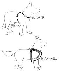 オーストラリアEZYDOG社犬用(ドッグ)シートベルト固定具付ハーネス「ハーネスMサイズ」