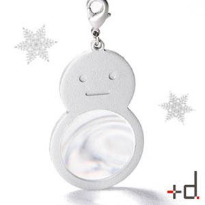 雪だるまの拡大鏡で雪の結晶を見てみよう!