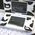 Nintendo DS Lite(ニンテンドーDS Lite) SLIM SKIN [milk cow]