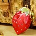 Hapys The Strawberry(ストロベリー)チェーン付ガマグチコインケース