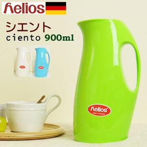美しいフォルム! helios ヘリオス 魔法瓶 [ポット 保温 保冷 卓上 おしゃれ サーモス 1l 水筒 ...