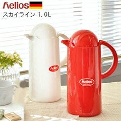 品質はお墨付き! helios ヘリオス 魔法瓶 [ポット 保温 保冷 卓上 おしゃれ サーモス 1l 水筒 ...