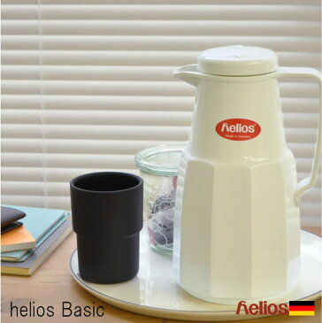 ヘリオス 魔法瓶 ベーシック helios 1L ドイツ製[basic サーモ ポット 送料無料 保温 保冷 卓上 おしゃれ 水筒 母の日 結婚祝い 新生活 ギフト] P10