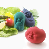 +d カオマル ベジタブル CAOMARU 日本製[野菜 ストレス解消 癒し ヒーリング ギフト ユニーク 誕生日 プレゼント プラスディー アッシュコンセプト]