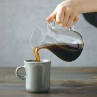 コーヒー ドリッパー ステンレス ペーパーレス コーヒーカラフェセット 600ml 4杯分  4cups [ ドリップ コーヒーメーカー コーヒーポット コーヒーサーバー コーヒーフィルター 耐熱ガラス コーヒー スローコーヒー スタイル KINTO ギフト 誕生日 結婚 祝い 送料無料 大きい]