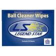 【LS】ボールクリーナーワイプBall Cleaner Wipesネコポス可(代引き除く)