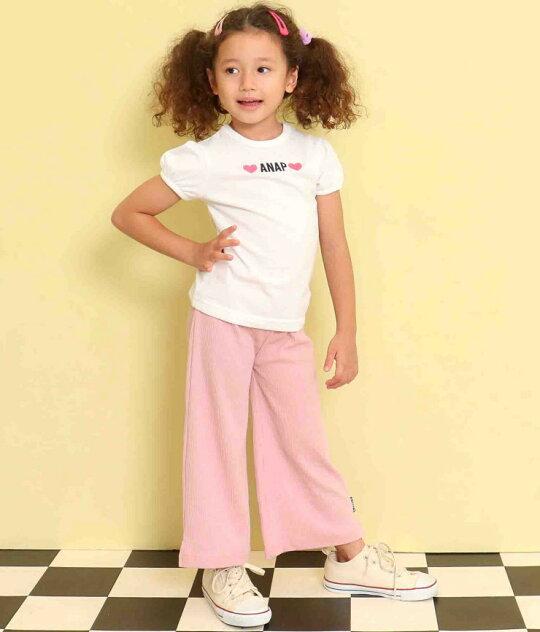 ピンク(110サイズ着用/身長:約107cm)