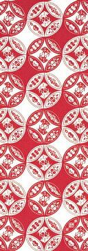 【11月1日販売開始】【2019年干支】手ぬぐい「五福猪(小) 紅玉」干支/亥/猪/いのしし/イノシシ/Wild boar/縁起物/お正月/お年賀/手拭/手拭い/てぬぐい/慶事
