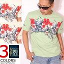 ANTI アンチ フラワー 半袖 Tシャツ ATT-151 エフ商会 ハワイアン サーフィン アロハ メンズ【0604SS】