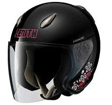 ヤマハジェットヘルメットレディースグラフィックゼニスYJ-52モカ(YAMAHAZENITHYJ-5-2MOCA