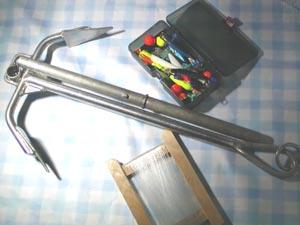 AMAステンレスフィッシングアンカー2-7kg
