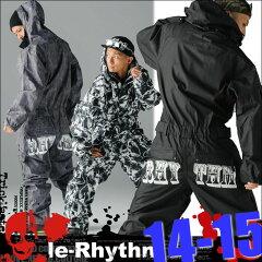 最新モデル14-15■【即日発送/送料無料】続、復活つなぎ◆le-Rhythm リアリズムスノーボードウ...