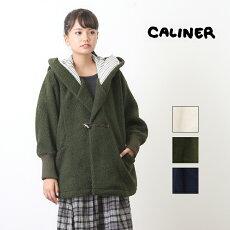 CALINER(カリネ)ボア×リブビックフードジャケット