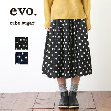 cubesugarevo.(キューブシュガーエボ)C/L水玉スカート
