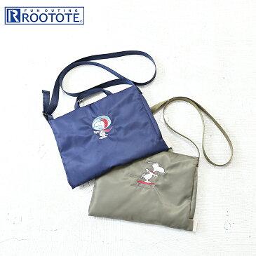 【セール除外商品】ROOTOTE(ルートート) Sacoche SCサコッシュピーナッツ3K(2色)【TAG】【PL】【バッグ】【鞄】【スヌーピー】