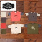 KAKELA&TRANQUIL(カケラ&トランクイル)キッズクルーTシャツ