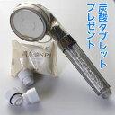 【炭酸シャワーセット】家庭用 シャワーヘッド +炭酸タブレット1個付