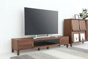 天然木を贅沢に使用し、機能性とデザイン性を両立したスタイリッシュな国産テレビボード