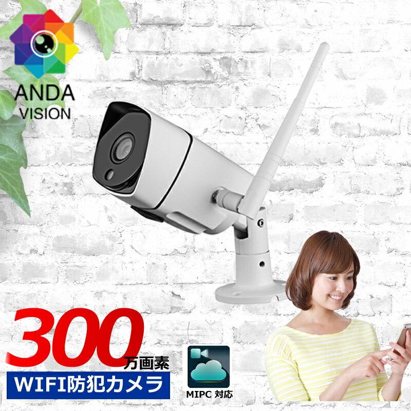 防犯カメラ, 防犯カメラ単体  300 sd av-ipcam33ir MIPC