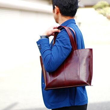 イタリアンレザー トートバッグ メンズ 本革 男性用 イタリア産 バッグ A4サイズ 鞄 高級感 革 レザー 直販 メーカー 製造 革はぎれ はぎれ エコ レザー トート 余剰品