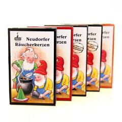 [HUSS/フス社]【コーン型で煙出し人形にも】小人のお香 紙箱入り「もみの木(木々の香り)」【...