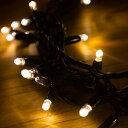 イルミネーションLEDライト 100球(電球色)基本セット【NEW(NC01/NC21)】【クリスマスツリー・防水 屋外 電飾】【MK illumination】 3
