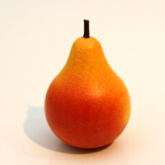 【ドイツ・Erzi エリツィ社】【Erziの木製おままごと】洋なし(橙)