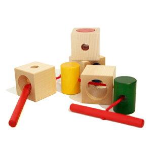 [Naef/ネフ社]【ひもとおしのおもちゃ】シグナ/Signa(ひも通しブロック)【送料無料】