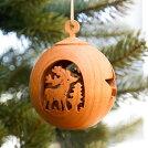 ナッツクーゲル「シカ(deer)」【WF9970-2】【クリスマスオーナメント】