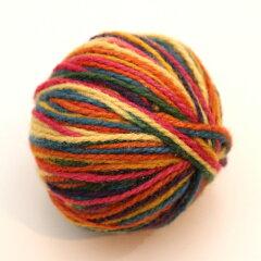 [wool manufakture/ウールマニュファクチャー]草木染毛糸「レインボー(濃色)」25g 【ドイツ...