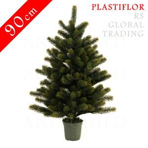 ヨーロッパ市場向けのクリスマスツリー【2013年10月上旬発送分】クリスマスツリー 90cm【レビュ...