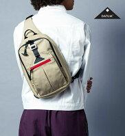 【DATUM】デイタム 46404 メンズ レディース 男女兼用 ボディバッグ BODY BAG ショルダーバッグ 薄マチ コンパクト アウトドア