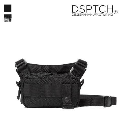 DSPTCH ディスパッチ SLING POUCH(スモール) ミニ サコッシュ / バリスティックナイロン USAブランド ディスピッチ フェス ストリート メンズ 人気 定番 ギフト プレゼント 73038