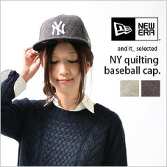 【NewEra/ニューエラ】NYキルティングベースボールキャップ●メール便不可●…