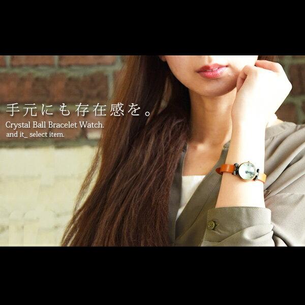 腕時計/水晶ブレスウォッチ【メール便不可】(レディース おしゃれ メンズ ブレスレット ブレスウォッチ 時計 腕時計 アクセサリー ギフト 小物 レディースファッション 春 レディースウォッチ ウォッチ レディース腕時計 アナログ アナログ腕時計 ブレスレットウォッチ)