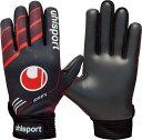uhlsport(ウールシュポルト) 1000855 02 サッカー FUTSAL フルフィンガー ソフト ブラック×ホワイト 16SS