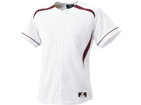 エスエスケイ(SSK) BW0901 1022 ダミーオープンプレゲームシャツ 野球 17SS