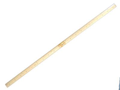 和裁や着物の採寸に便利な「竹尺(ものさし) 鯨2尺(センチ付)」