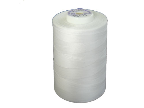 キングスパンミシン糸(90番/5000m巻)色:生成(きなり)
