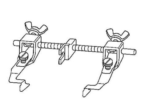 ニッポーガイド前後調整式ステッチ定規(左右兼用):NG-2000W【ヤマト・メール便での発送OK】
